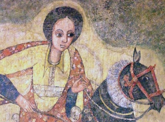 queen of sheba mural